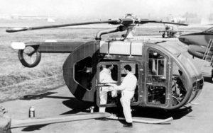 Вертолет Fiat 7002