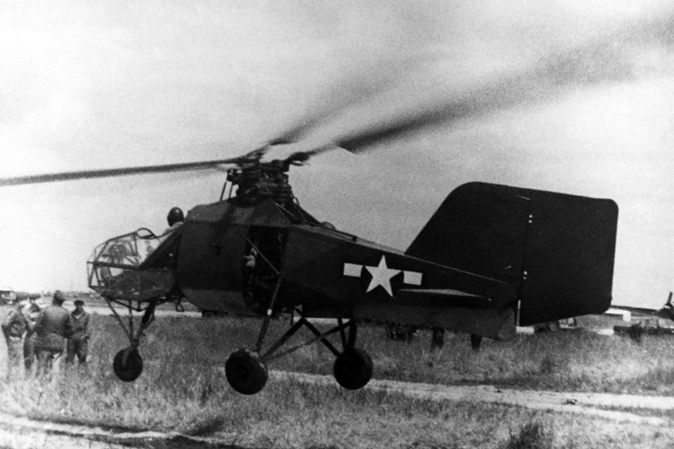 Flettner Fl 282 в США
